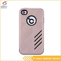 Flexible price new design cheap mobile phone case for iphone4