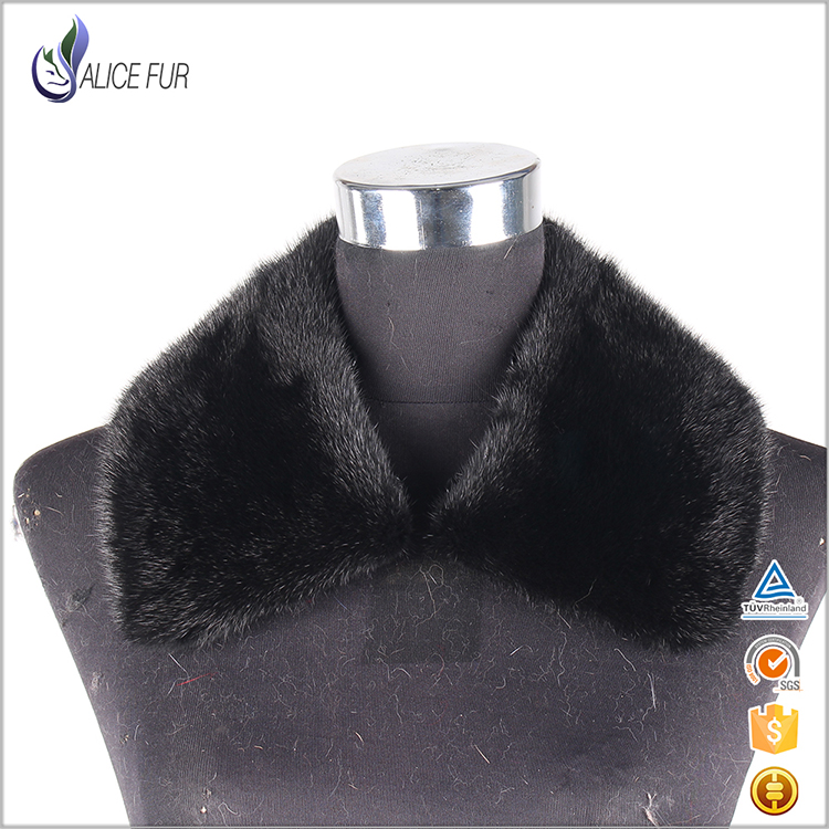 <strong>Natural</strong> Or Dyed Black Leather Women Men Jacket Detachable Mink Fur Collars