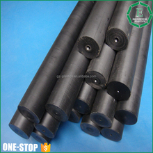 Engineering plastic manufacturer custom made solid black plastic PPS rod tube sheet