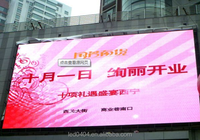 alibaba express P10 HD outdoor advertising full color led display panel led screen billboard