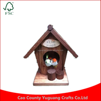 Customise Darice Value Promo Outdoor Wooden Bird house