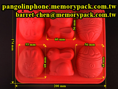 Memorypack christmas egg silicone soap molds diy CCM-003