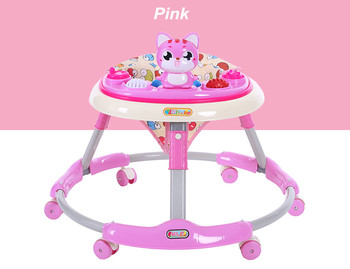 U shape desgin best music baby walkers with funny toys for sale