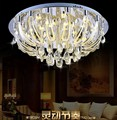 NEW modern decorative crystal round ceiling lamp