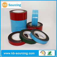 Acrylic coating double side structure double sided pe acrylic adhesive foam tape