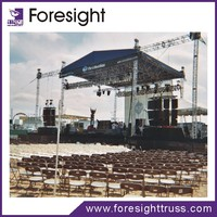 Foresight truss 2012 hot sale outdoor decration truss for wedding, concert, stage performance