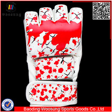 Fighting MMA Wrestling Grappling Gloves custom printed mma gloves