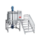 Detergent production line wax shampoo shower gel mixing mixer making machine