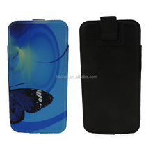 New design Sublimation medium universal vertical leather phone cover for mobile phone