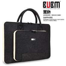 BUBM 2018 New Felt Universal briefcase Laptop sleeve Computer Bag