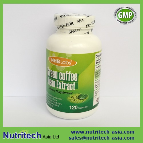 High quality halal Green Coffee Bean slim Capsules oem