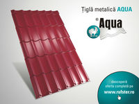 AQUA metal roof tile