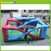 inflatable basketball court field multifunction sport field game twister football game
