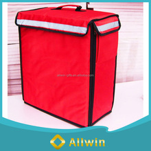 Delivery food warmer bag, red food delivery bags insulated