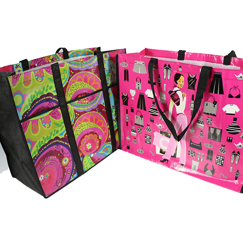 Wholesale cheap fancy pp shopping bag