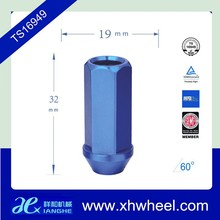 Blue Racing Wheel Nuts Forged Aluminum Lock Lug Nuts