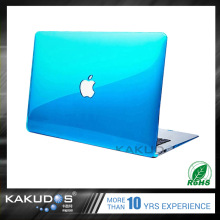 Easy to install and remove simple style laptop Colorful crystal case for macbook