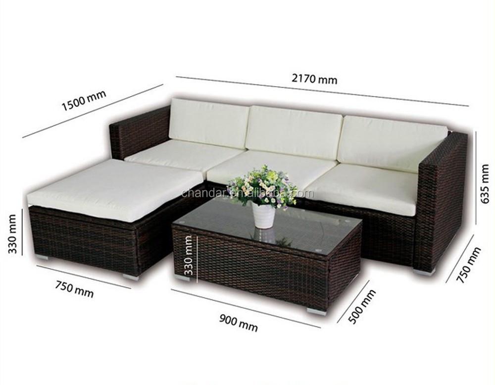 Rattan conjunto de sof sof do rattan sof ao ar livre for Conjunto rattan barato