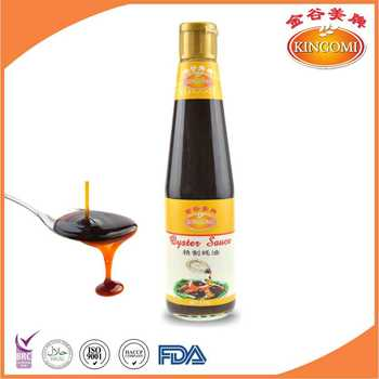 Chinese Premium Oyster Sauce 510g for Seasoning Sauces