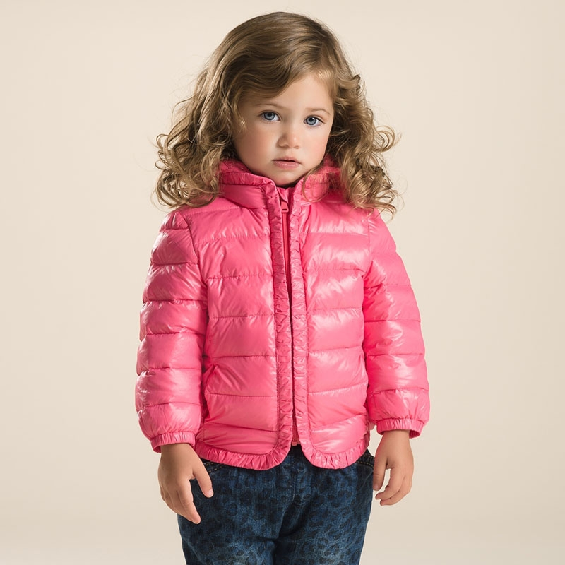 DB2929 dave bella 2015 autumn winter infant coat baby boy down jacket padded jacket outwear girls down coat down jacket