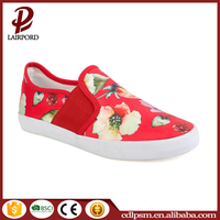 3% off factory price new coming canvas designer girl flat shoes