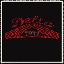 Aprise - Delta 1913 Rhinestone Iron on Transfer