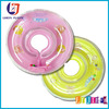 pvc inflatable infant swim neck float ring, inflatable baby swim neck collar ring