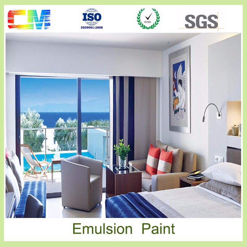 China high quality emulsion acrylic latex interior wall paint for home decoration