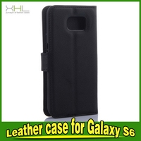 Special manufacture leather flip cover for samsung s6 active