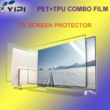 Wholesale Price No Broken Shield Screen Protector For TV/Computer/LCD, 9H PET+TPU Anti Shock Screen Film/
