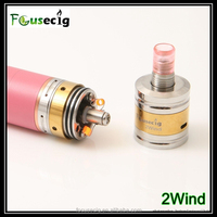 2015 new arrival 2wind RDA double airflow control rebuildable dripping atomizer