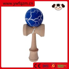 Crackle paint kendama , beech wood kendama balls,wooden kendama toy