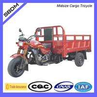 Sibuda Gasoline Powered Truck Cargo Tricycle