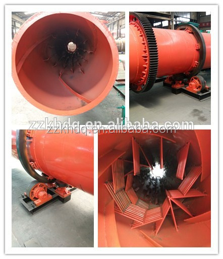 Hot sale high capacity gypsum powder drying machine/gypsum rotary plant with factory price