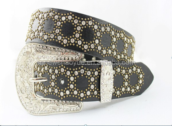 New Arrival Hot Seller Ladies Fashion Fancy Rhinestones Waist Belt