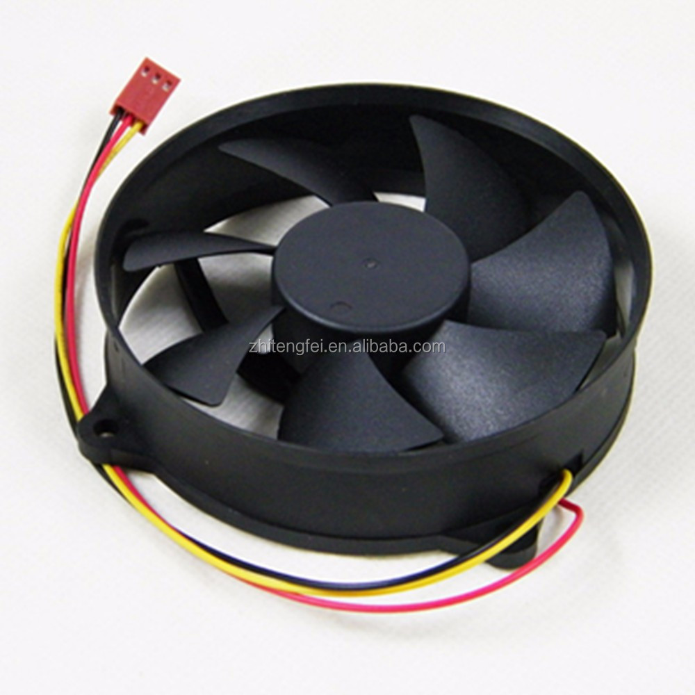 9025 24 Volt DC Cooling Fan 12V 24V 90x90x25mm Round DC Fan with CE/RoHS/UL Approved