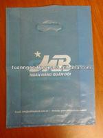 Plastic green plastic bag/ eco-friendly HDPE bag produce as your design