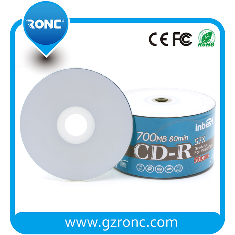 50pcs shrink wrap/cake box package inkjet printable cdr