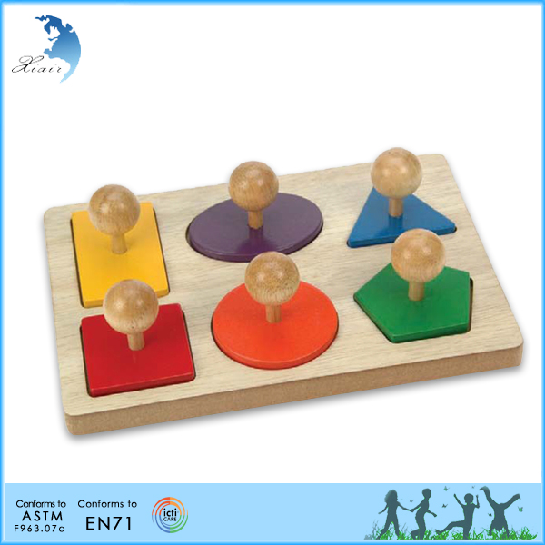 Retail early learning solid wood teenager kindergarten montessori teaching tools