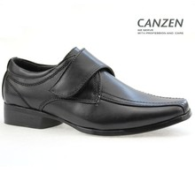 Footwear black school shoes for children