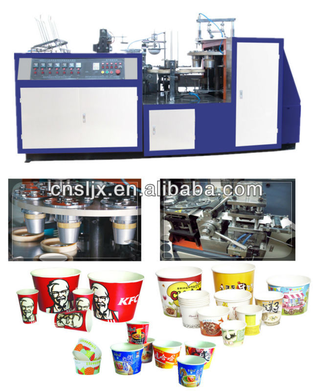 SZW Automatic Paper Bowl Forming Machine