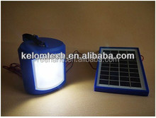 Mini Solar Lantern Solar emergency light With Cellphone power bank Charger