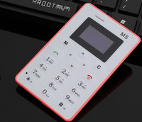 New Arrival Fashionable Design Mini Mobile Card Phone M5