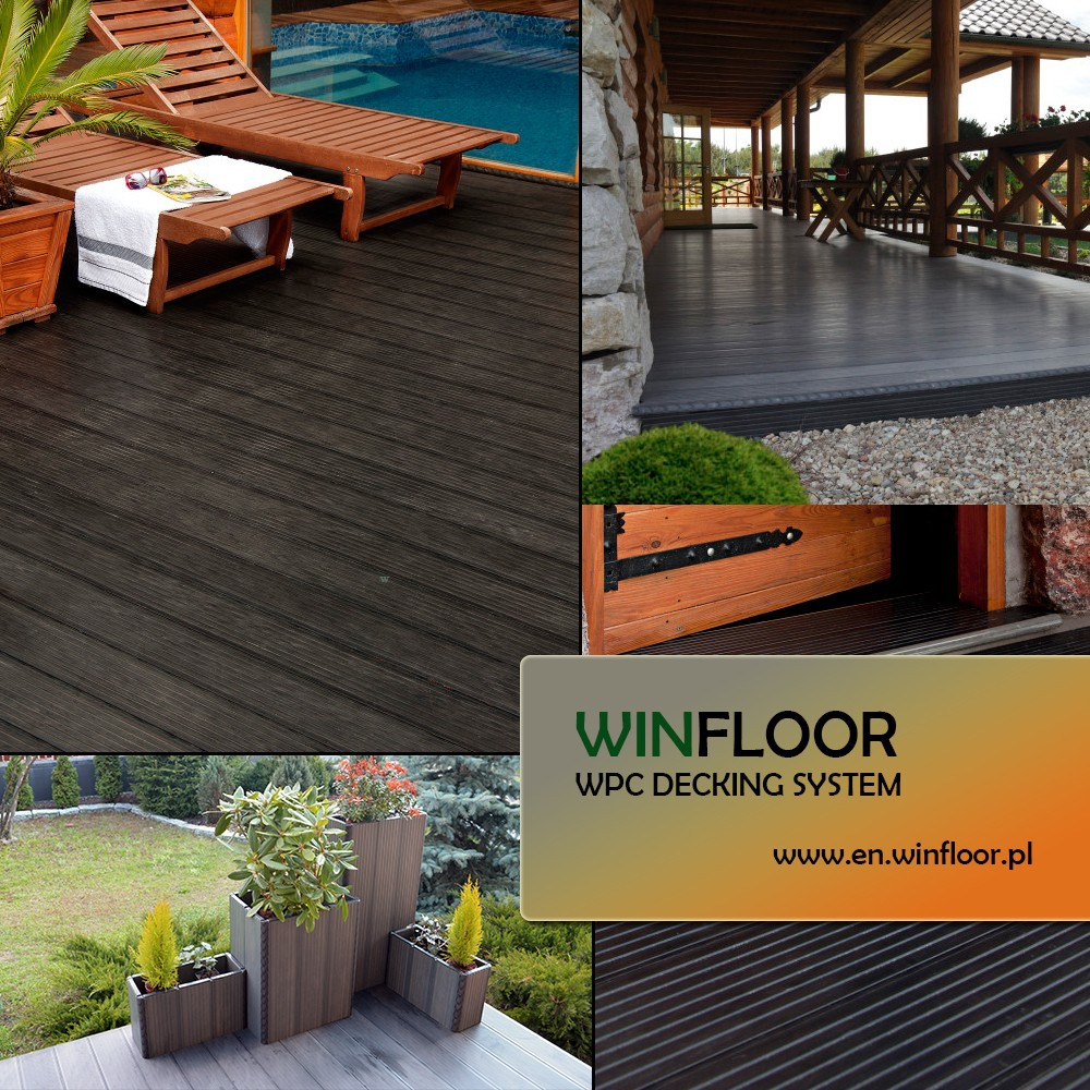 WPC / WPC Decking / WPC Flooring MADE in EU