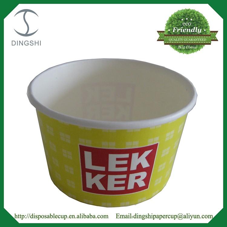 Disposable Noodle Paper Bowl Food Container Paper Serving