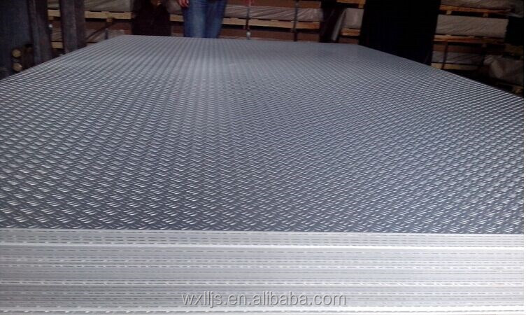 3004 aluminium checker plate weight