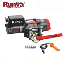 Runva Hot selling Factory Sale CE Approved mini electric winch 12v 3500lb