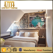 European Style Wooden Luxury Bedroom Hotel Furniture Guangzhou