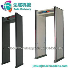 metal detector gate/walk through metal detector price/security scanner door