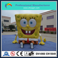 customized big inflatable promotion cartoon for sale/giant inflatable promotional character for sale